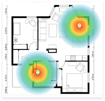 Wi-Fi Heat Maps for Access Point Monitoring in Real Time