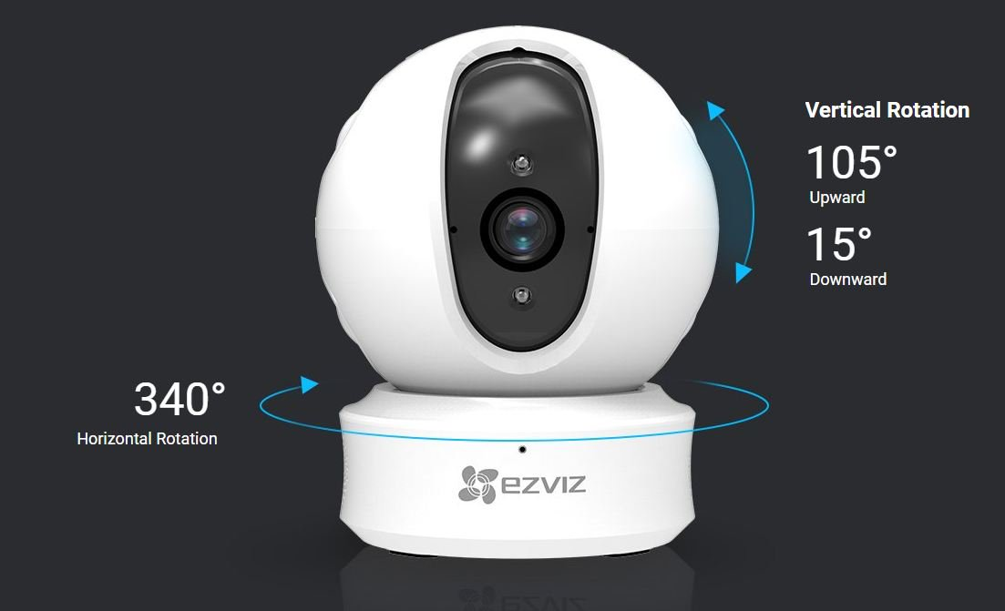 ezviz c6c mini 360 wifi camera