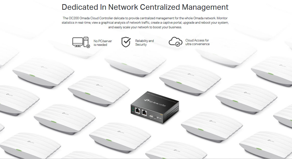OC200 Dedicated In Network Centralized Management