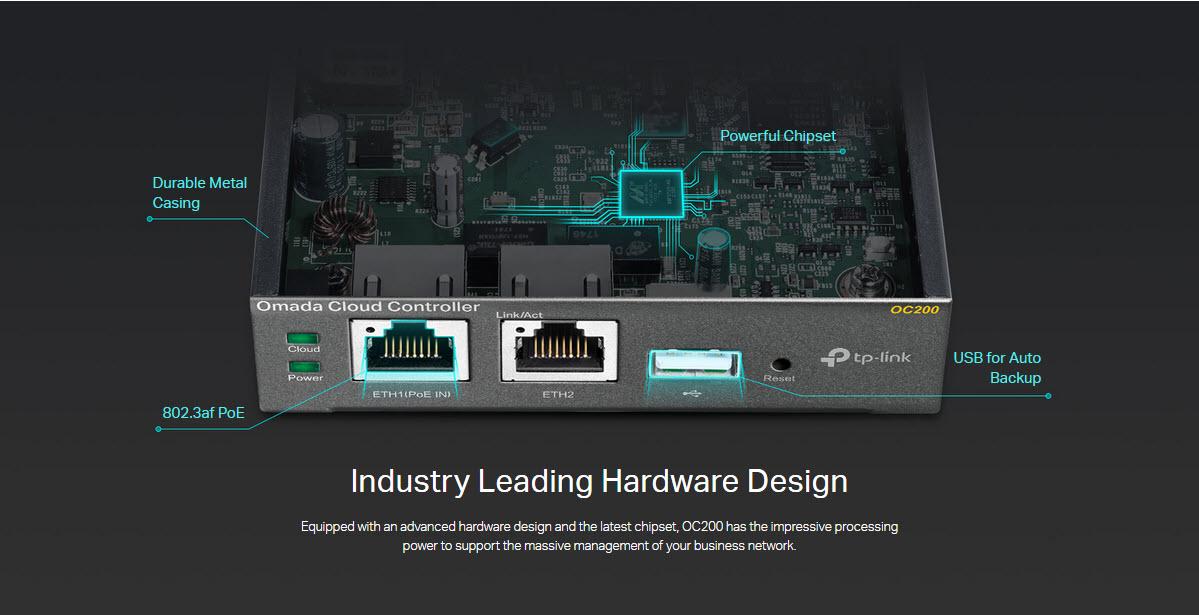 tp-link oc200 Industry Leading Hardware Design