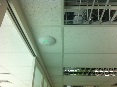 wifi hotspot ubiquiti access point