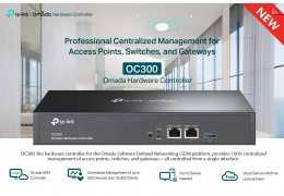 Review TP-Link OC-300 Omada Network Controller